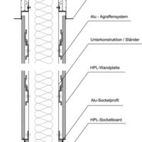 Wandsystem-Skizze